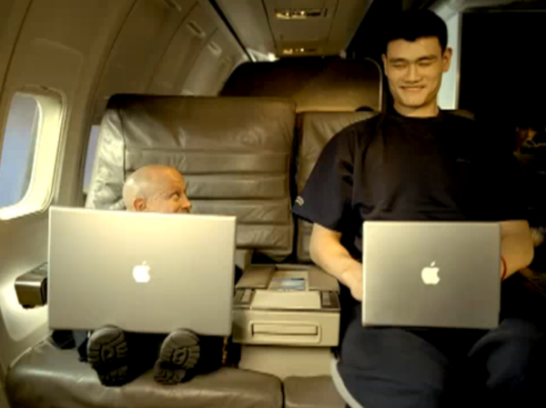 Big and Small Apple Commercial