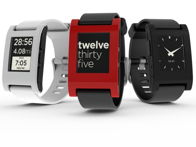 Pebble Wearable Tech