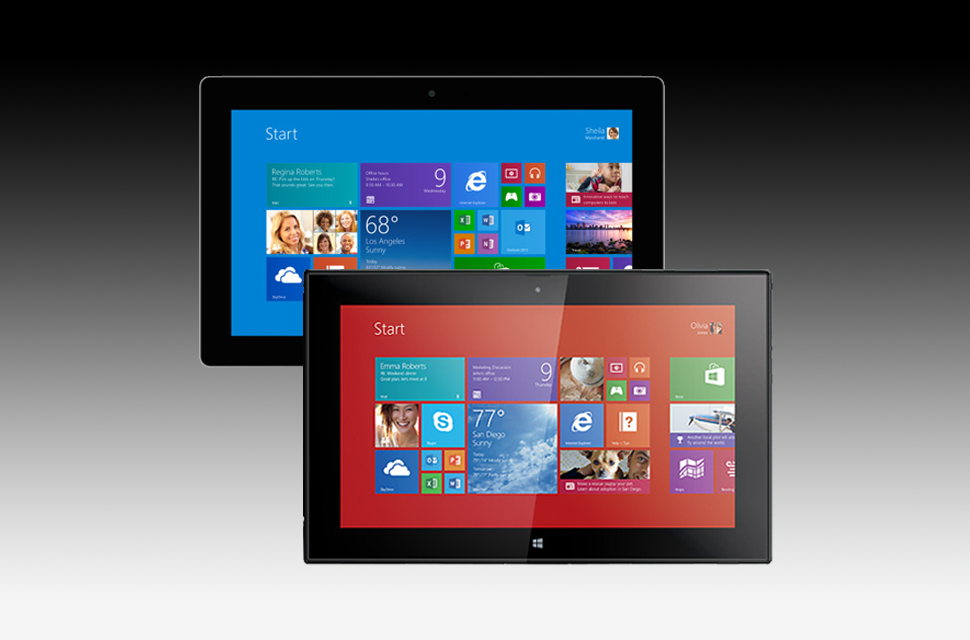 Surface 2 vs Lumia 2520 Tablet Review