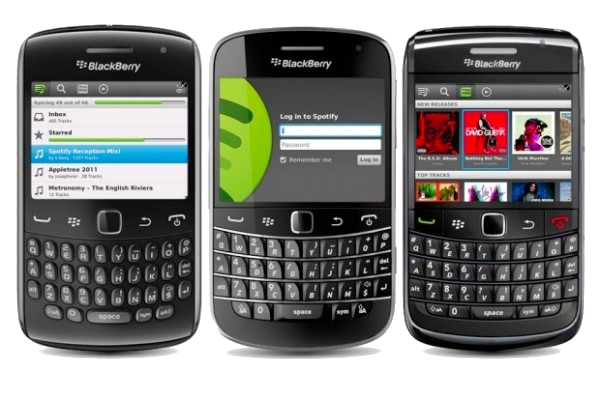BlackBerry's Old Lineup
