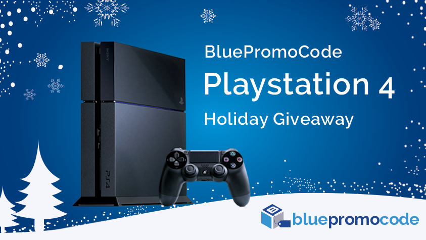 Win a PS4: The BluePromoCode PlayStation 4 Giveaway
